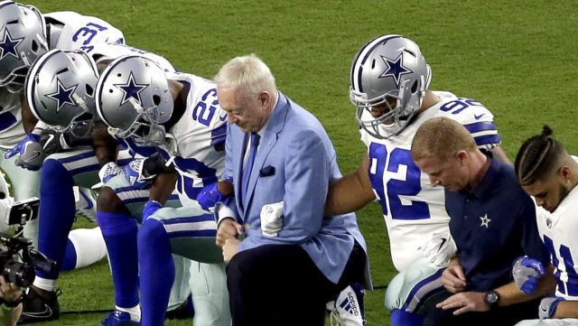 Jerry Jones: 'We will regard the banner'